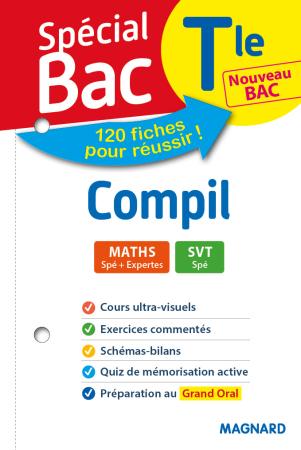 Spécial Bac Compil 2 Spés Maths SVT Tle Bac 2021 | Magnard