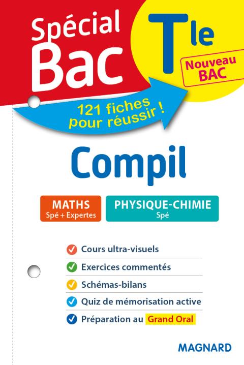 Spécial Bac Compil 2 Spés Maths Physique Tle Bac 2021 ...